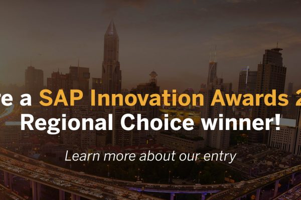SAP Innovation Award Winner Regional Choice